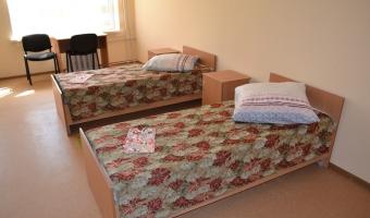 Открытие спального корпуса в лагере