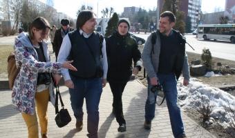 В рамках проекта Новополоцк посетила делегация из Дармштадта
