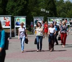 Всего фотовыставка побывала в 14 белорусских городах.
