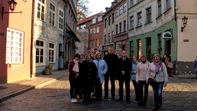 За время пребывания на Шведской земле новополочане посетили учреждения, которые работают с